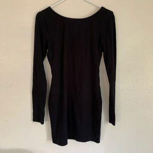 Forever 21 sexy black dress medium